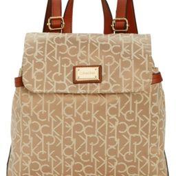 Calvin Klein Teodora Medium Signature Jacquard Backpack | Macys (US)