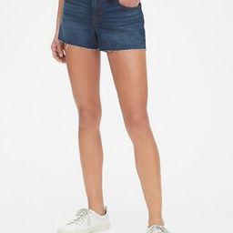 """Mid Rise 3"""" Denim Shorts   Gap US"""