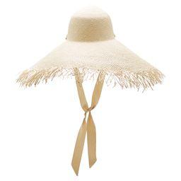 Sensi Studio Frayed Straw Hat   Moda Operandi Global