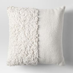 Cream Solid Textured Throw Pillow - Project 62 , White | Target