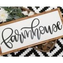 FARMHOUSE Sign, Farmhouse sign wood, wood farmhouse sign, farmhouse painted sign, farmhouse kitchen sign,  Farmhouse sign for kitchen   Etsy (US)