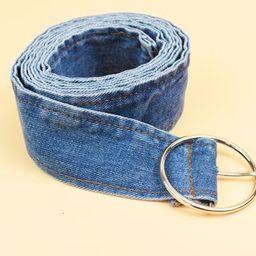 Denim Belt Denim Blue - One Size | YesStyle Global