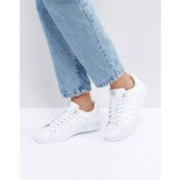 K-Swiss Clean Court Trainers In White   ASOS NL