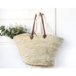Woven Natural Straw Basket, The Amelia, Market Straw Tote, Decorative Basket, Storage, Market Bag, Shopper, Beach Bag | Etsy (US)
