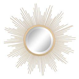 Sunburst Mirror Gold 23 x 23 - Stonebriar Collection   Target
