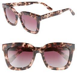 Women's Diff Carson 53Mm Polarized Square Sunglasses - | Nordstrom