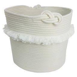 White Rope Basket with Fringe - Pillowfort   Target