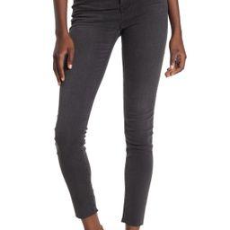 Washed Black 9-inch High Rise Skinny Jeans   Nordstrom Rack