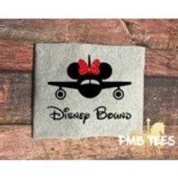Disney Bound  Surprise Disney Trip  Disney Shirt  First Trip to Disney  Kids Disney Shirt  Minnie Mouse Shirt  Minnie Mouse  Plane | Etsy (US)