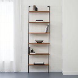 "helix 96"" acacia bookcase | CB2"