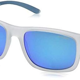 Arnette Men's Complementary Non-Polarized Iridium Square Sunglasses, Matte Crystal, 57 mm | Amazon (US)