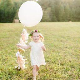 Balloon Tassel + 36 inch Oval Balloon Set OR Balloon Tassel ONLY   Etsy (US)
