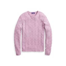 Ralph Lauren Cable-Knit Cashmere Sweater Mauve S   Ralph Lauren (US)