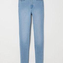 H & M - Super Skinny High Jeggings - Blue   H&M (US)