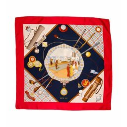 Gucci Silk Printed Scarf Red Gucci Silk Printed Scarf | The RealReal