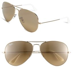 Ray-Ban Large Original 62Mm Aviator Sunglasses - | Nordstrom
