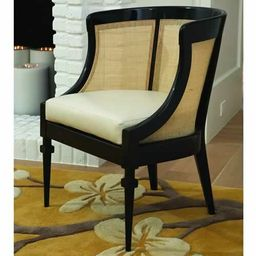 Cane Barrel Chair   Wayfair North America