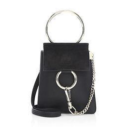 Mini Faye Leather Bracelet Bag | Saks Fifth Avenue