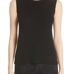 Women's Lafayette 148 New York Ribbed Cashmere Tank Top | Nordstrom