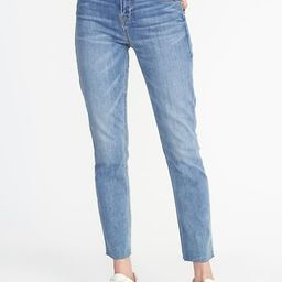 High-Rise The Power Jean, a.k.a. The Perfect Straight Ankle for Women | Old Navy US