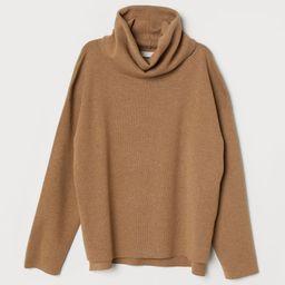H & M - Fine-knit Turtleneck Sweater - Beige | H&M (US)