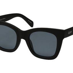 QUAY AUSTRALIA After Hours (Black/Smoke) Fashion Sunglasses   Zappos