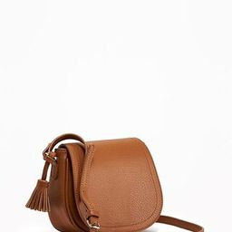Old Navy Mini Saddle Bag For Women Size One Size - Cognac brown | Old Navy US
