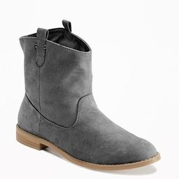 Sueded Boots for Women | Old Navy US