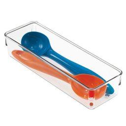 InterDesign® Linus Acrylic 3-Inch x 9-Inch Drawer Organizer   Bed Bath & Beyond