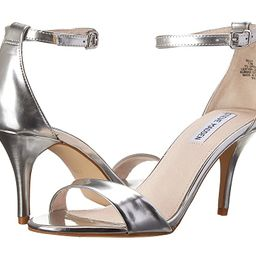 Steve Madden Exclusive - Sillly Sandal (Silver Foil) High Heels   6pm