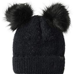 D&Y Women's David & Young's Sable Touch Knit Double Pom Beanie | Amazon (US)