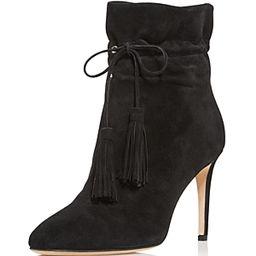 kate spade new york Women's Dillane Pointed Toe Suede High-Heel Booties   Bloomingdale's (US)