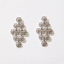 LOFT Filigree Chandelier Earrings   LOFT