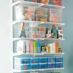 White elfa Activity Room 7ft S | The Container Store
