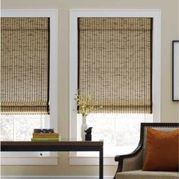 Tortoise Natural Cordless Bamboo Roman Shade (As Is Item) | Overstock