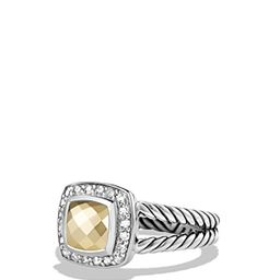 David Yurman Petite Albion Ring with 18K Gold Dome and Diamonds | Bloomingdale's (US)
