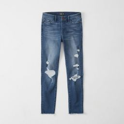 Low-Rise Ankle Jeans   Abercrombie & Fitch US & UK