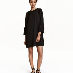 H&M Dress with Flounced Sleeves $24.99 | H&M (US)