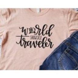 Disney Shirts/Disney Family Shirts/World Showcase Traveler Shirt/Disney Shirts for Women/Epcot/Disney/Disney World/World Showcase | Etsy (US)