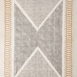 Calisa Block Printed Rug - Assorted 5 Round at Urban Outfitters   Urban Outfitters (US and RoW)