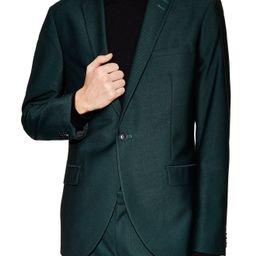 Men's Topman Banbury Slim Fit Suit Jacket, Size 34R - Green | Nordstrom