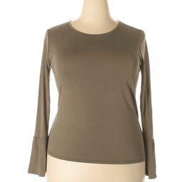 Cape Juby Long Sleeve Top Size 12: Dark Green Women's Tops - 39533942 | thredUP