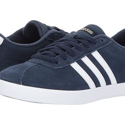 adidas Courtset (Navy/White/Gold) Women's Lace up casual Shoes | 6pm