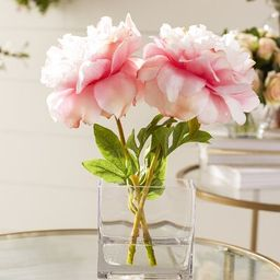 Faux Pink Peony | Wayfair North America