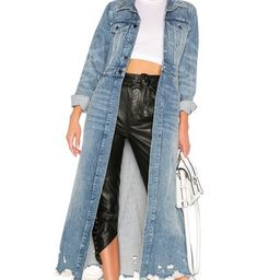 Fitted Trench Coat | Revolve Clothing (Global)