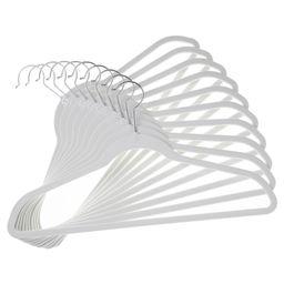 Huggable Hangers 10-pk Suit Hangers - White | Target