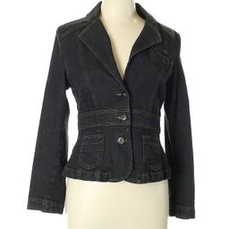 Riders by Lee Denim Jacket Size 12: Black Women's Jackets & Outerwear - 44152780 | thredUP