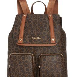 Calvin Klein Teodora Cargo Signature Backpack | Macys (US)