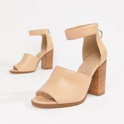 ASOS DESIGN Taro casual heeled sandals | ASOS UK