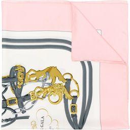 Hermès Vintage Brides de Gala scarf - Pink & Purple | FarFetch US